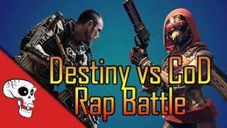 Destiny vs. Call of Duty RAP BATTLE by BrySi + JT Machinima