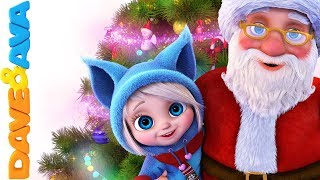 🎉 Christmas Songs for Kids | Christmas Carols | Nursery Rhymes and Baby Songs from Dave and Ava 🎉