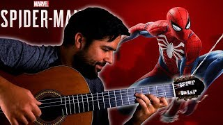 SPIDER-MAN PS4 Main Theme On Guitar