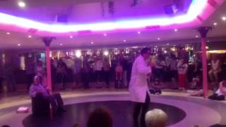Live show in hotel fiesta park benidorm