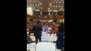 Cantores lucas e Divina  na UMELF