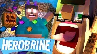 🎃 Halloween   Funny Herobrine Life   Minecraft Animation
