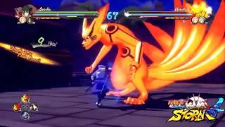 Naruto Storm 4   Sasuke Rinnegan Vs Rikudou Naruto Gameplay Demo E3 2015