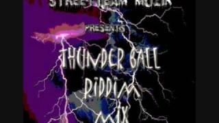 THUNDER BALL RIDDIM MIX (GULLY SQUAD DISS KARTEL)