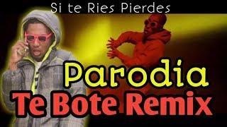 Te Bote Remix - Casper, Nio Garcia, Darell, Nicky Jam, Bad Bunny, Ozuna | PARODIA Ets Daniel