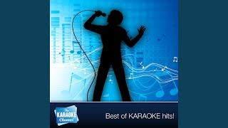 Man Of La Mancha (I, Don Quixote) (Karaoke Version) (In The Style Of Man Of La Mancha -...