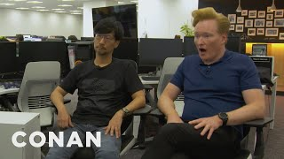 Conan Visits The Offices Of