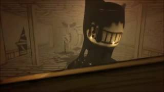 Bendy and the ink machine jumpscare at Beta