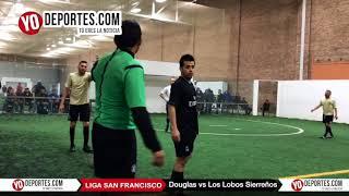 Douglas vs. Los Lobos Sierreños Liga San Francisco Lunes Veteranos