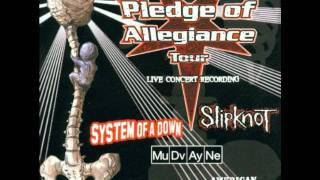 System of a Down - Chop Suey! (Live @Pledge Of Allegiance Tour 2001) [CD Quality]