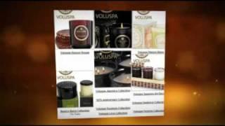 Luxury Candles from Voluspa at Zanadia.com
