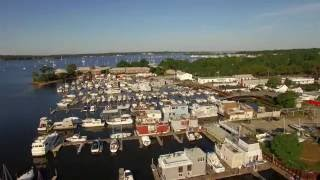 Drone Flight over Port Washington @ Sunset Park