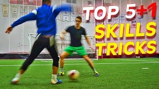 TOP 5+1 Amazing Football Skills To Learn Tutorial Thursday Vol.33