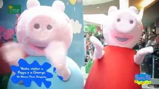 Peppa Pig no Mooca Plaza Shopping