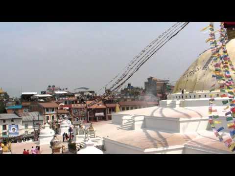 SANY0753.MP4 BoudhaNath Stupa Movie