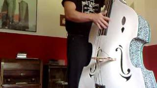 TOM CAT TEXAS ROCKABILLY SLAPBASS
