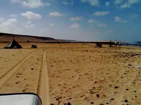 4×4 Sand Driving Beach Western Sahara Morocco Defender Land Rover