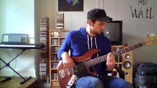 Lou Reed - Walk on the wild side  Bass Cover Zoom Q3