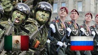 ¡Ejercito Mexicano desfilando al ritmo de Rusia! | Marina de México HD