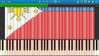 Philippines flag on synthesia- Lupang Hinirang