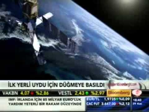 Türkiye'nin İlk Haberleşme Uydusu İçin Düğmeye Basıldı