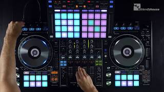 Performing with a Pioneer DDJ-RZ & DDJ-XP1 (with Sountec)