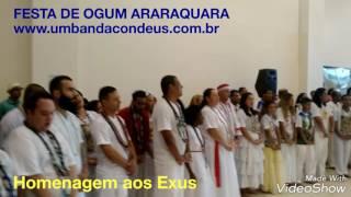 Homenagem aos Exus na Festa de Ogum Araraquara