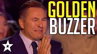 HAPPIEST Golden Buzzer Ever Makes Judges CRY On Britain's Got Talent! | Got Talent Global
