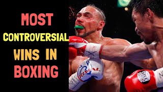 Top 10 Most Controversial Matches/ Undeserved Wins in Boxing