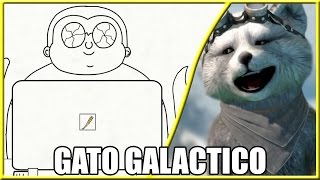 #REACT - Cueio Fanarts 01 (Gato Galactico)