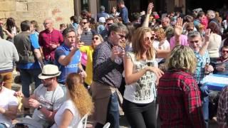 Comida en la calle en Avilés: un récord Guinness