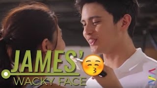 [MUST-SEE] James Reid's cute wacky face and gigil yakap!