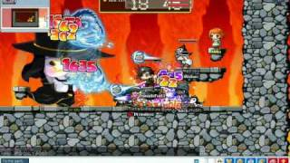 Maplestory MV an event pq-Hermit Died from MV