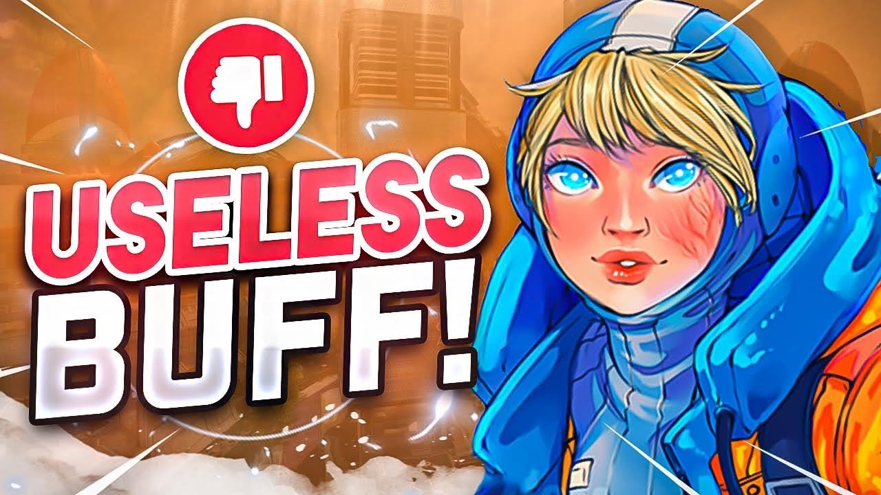 Ratchet - The MOST USELESS BUFF EVER In Apex Legends