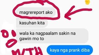 lyrical prank ''TAGALOG'' na-uwi sa kasu! gone wrong! {pare mahal mo raw ako}