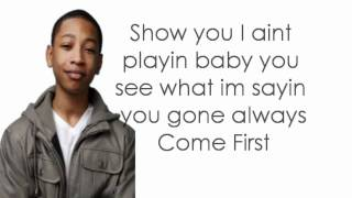 Jacob Latimore-  You Come First Lyrics