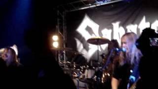 Sabaton - The Price Of A Mile @Hof ter lo 28-02-09