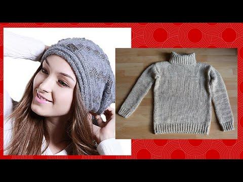 Come ricavare un cappello da un vecchio maglione   Fai da ...