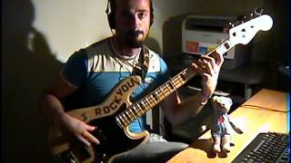 Nik Kershaw - The Riddle BASS COVER by FFKING