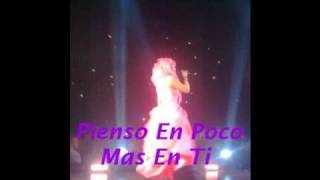 Shakira-Pienso En Ti  Lyrics