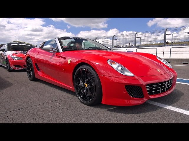 1 of 80 Ferrari 599 SA Aperta - Brutal Accelerations on the Track!