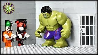 Lego Hulk Prison Break