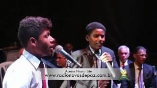 Lucas e Gabriel  13º Aniversário da Rádio Novas de Paz