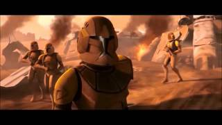 Star Wars The Clone Wars. Clone Tribute - With Me Now