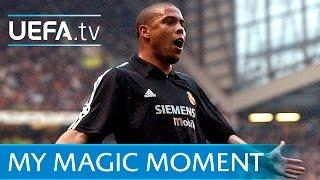 Ronaldo hat-trick for Real Madrid v Manchester United in 2003