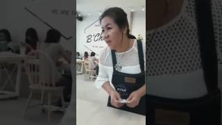 Bambam's mom @ B'Chill Café and Restaurant