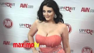 Sophie Dee At 2012 AVN AWARDS Show Red Carpet