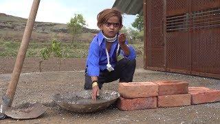 छोटू मज़दूर | CHOTU MAZDOOR | Khandesh Hindi Comedy Video | Chotu Dada Comedy