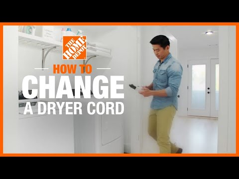 How to Change a Dryer Cord