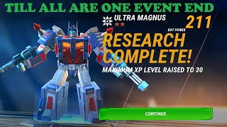 Transformers Earth Wars: Till All Are One End